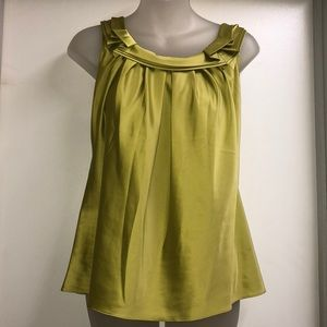 Lime green blouse